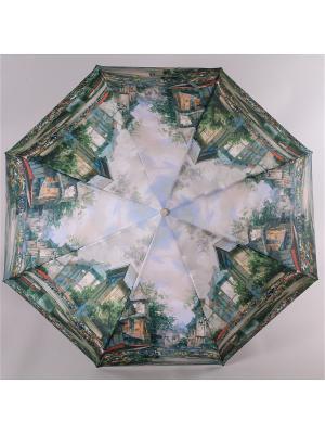 Зонт Trust. Цвет: горчичный, светло-бежевый