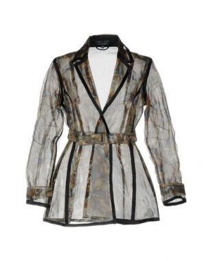 Легкое пальто IRIS VAN HERPEN. Цвет: хаки