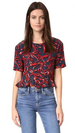 Блуза Blair Piamita. Цвет: cinta roja