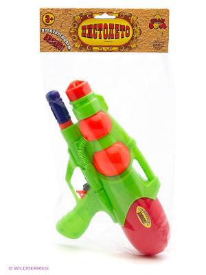 Водный пистолет с 2мя отверстиями Тилибом. Цвет: прозрачный