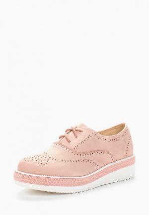 Ботинки Fersini. Цвет: розовый