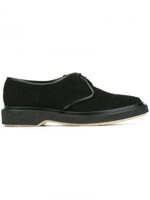 Туфли на шнуровке Adieu Paris. Цвет: чёрный
