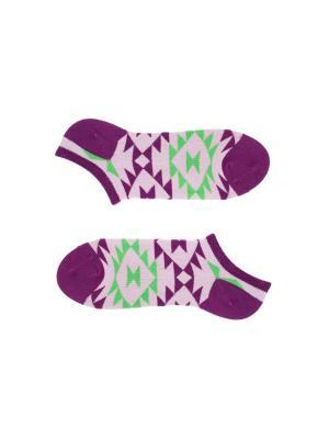 Носки Sammy Icon. Цвет: розовый, зеленый