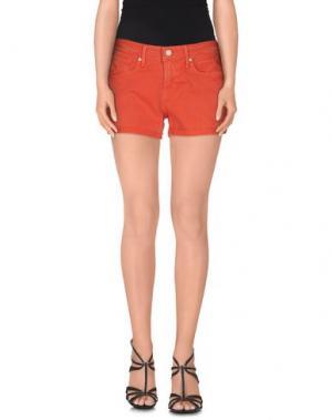 Джинсовые шорты MARC BY JACOBS. Цвет: коралловый