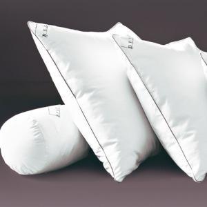 Подушка с обработкой, 70% пуха BEST. Цвет: белый