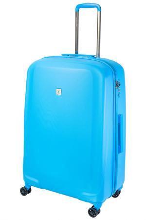 Чемодан Vip Collection. Цвет: голубой