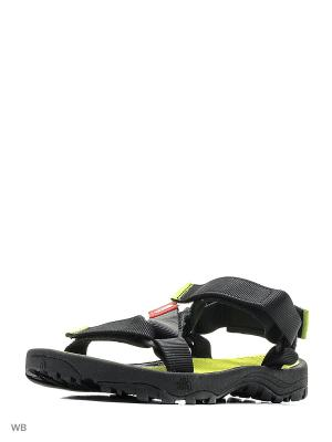 Сандалии LITEWAVE SANDAL The North Face. Цвет: черный