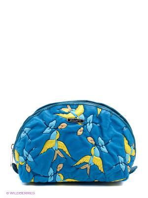 Косметичка Bullatti. Цвет: лазурный, темно-синий