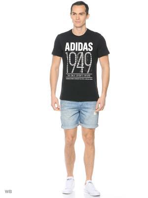 Шорты джинсовые муж. M DENIM SHT  INMIBL Adidas. Цвет: синий