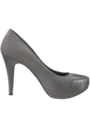 Туфли CITY WALK. Цвет: серый, черный