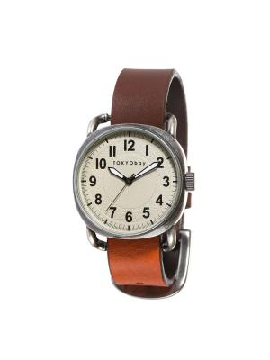 Часы TOKYObay. Цвет: темно-коричневый, светло-коричневый