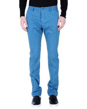 Повседневные брюки CLOSED. Цвет: лазурный