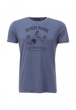 Футболка Eden Park. Цвет: синий