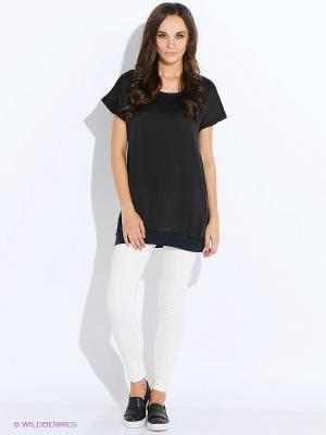 Пуловер Anna Scott. Цвет: черный