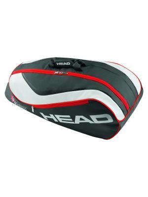 Сумка Junior Combi HEAD. Цвет: черный