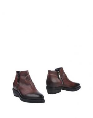 Полусапоги и высокие ботинки JFK. Цвет: какао