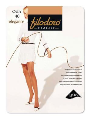 Колготки Filodoro Classic. Цвет: светло-бежевый
