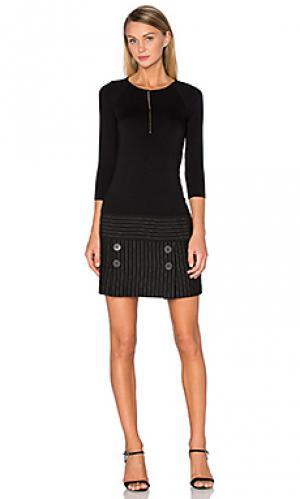 Мини платье aquisition Bailey 44. Цвет: черный
