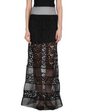 Длинная юбка F**K PROJECT. Цвет: черный
