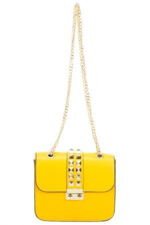 Сумка Giulia Massari. Цвет: yellow
