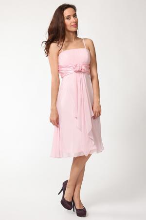 Платье Aeelis. Цвет: розовый