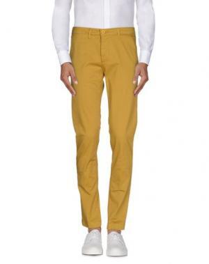 Повседневные брюки IMB I'M BRIAN. Цвет: охра