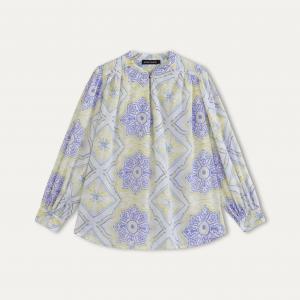 Блузка CALISTE ANTIK BATIK. Цвет: желтый