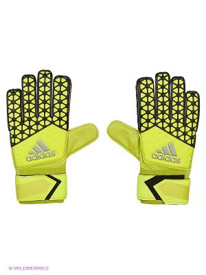 Перчатки Ace Replique Adidas. Цвет: салатовый
