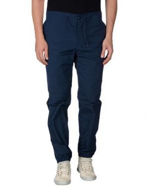 Повседневные брюки YMC YOU MUST CREATE. Цвет: синий