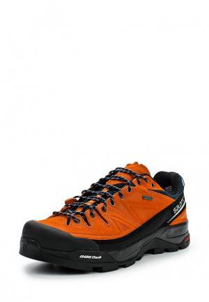Ботинки трекинговые Salomon. Цвет: оранжевый