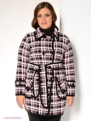 Кардиган Milana Style. Цвет: розовый, черный