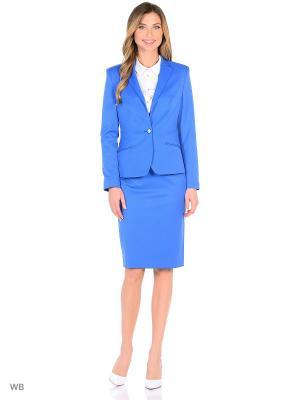 Жакет La Biali. Цвет: голубой