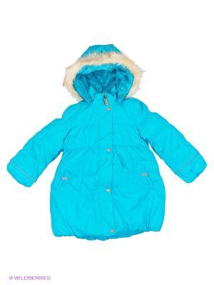 Куртка для девочки Cherubino. Цвет: бирюзовый