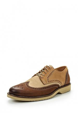 Туфли Paolo Sesto. Цвет: коричневый