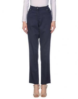 Повседневные брюки JEANS & POLO. Цвет: ярко-синий