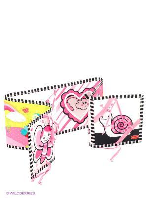 Двусторонняя книжка-раскладушка серии МОЯ ПРИНЦЕССА Tiny Love. Цвет: розовый