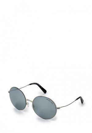 Очки солнцезащитные Michael Kors. Цвет: серебряный