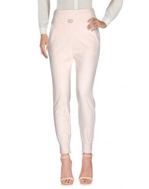 Повседневные брюки ELISABETTA FRANCHI JEANS. Цвет: светло-розовый