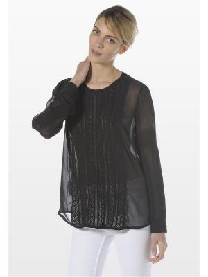 Блузка Stefanel. Цвет: черный