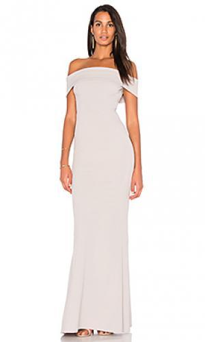 Вечернее платье legacy Katie May. Цвет: серый