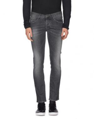 Джинсовые брюки 2W2M. Цвет: серый
