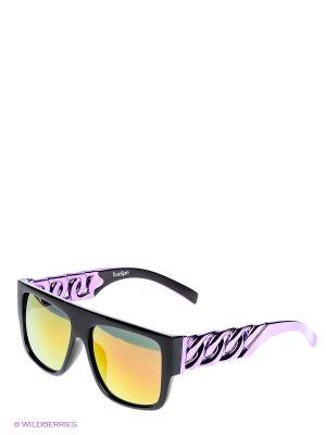 Солнцезащитные очки TRUESPIN Las Cadenas True Spin. Цвет: черный, желтый