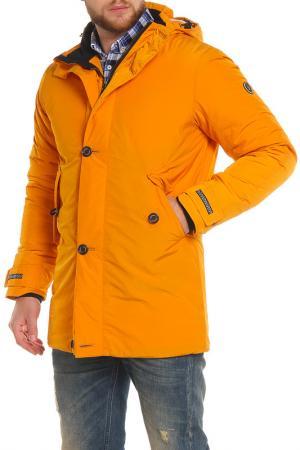 Куртка NORTHBLOOM. Цвет: желтый