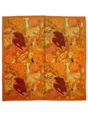 Платок Zalta. Цвет: оранжевый, желтый, терракотовый