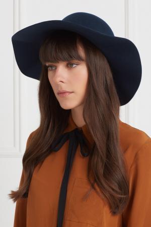 Фетровая шляпа Domo Artesano. Цвет: бирюзовый
