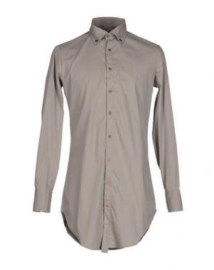 Pубашка MNML COUTURE. Цвет: серый