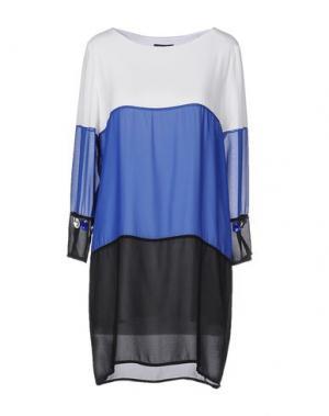 Короткое платье ODI ET AMO. Цвет: белый