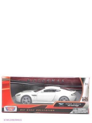Машинка коллекционная Aston Martin V12 Vantage Motormax. Цвет: красный