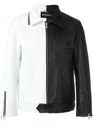 Куртка Sonic Youth дизайна колор-блок Misbhv. Цвет: чёрный