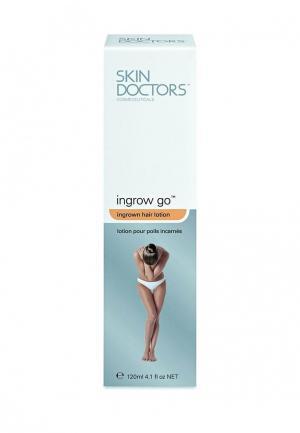 Лосьон для удаления и предотвращения появления вросших волос Skin Doctors. Цвет: белый